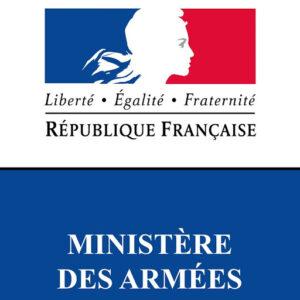 Logo ministere des armees